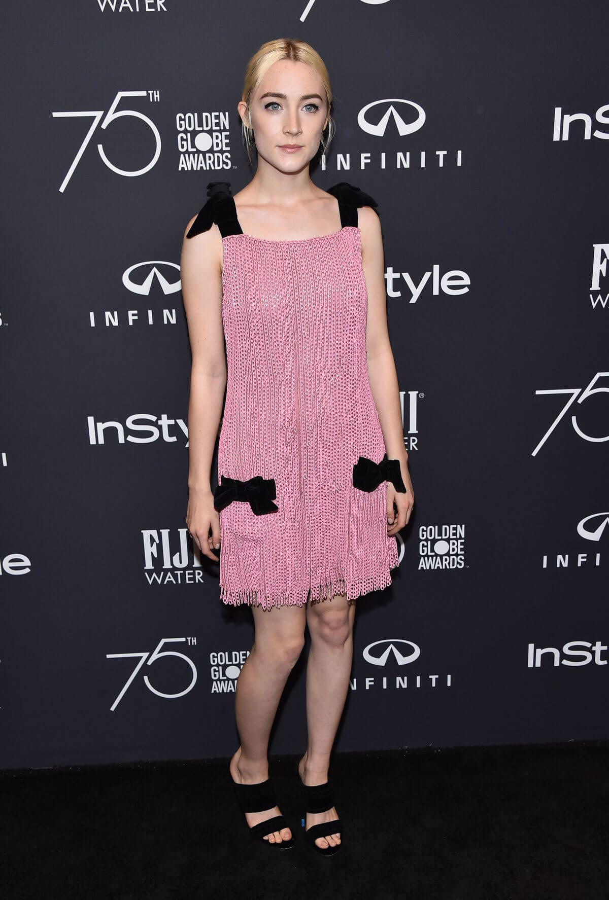 Saoirse Ronan Stills at HFPA & Instyle Celebrate 75th Anniversary of the Golden Globes in Los Angeles 2017/11/15