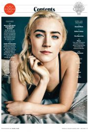 Saoirse Ronan Stills in Entertainment Weekly, February 2018 Issue