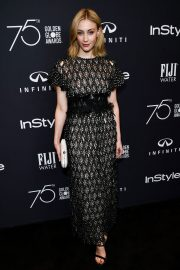 Sarah Gadon Stills at HFPA & Instyle Celebrate 75th Anniversary of the Golden Globes in Los Angeles 2017/11/15