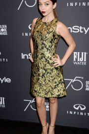 Sarah Hyland Stills at HFPA & Instyle Celebrate 75th Anniversary of the Golden Globes in Los Angeles 2017/11/15