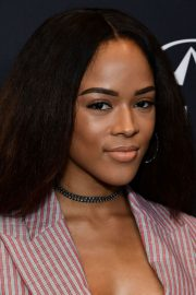 Serayah McNeill Stills at HFPA & Instyle Celebrate 75th Anniversary of the Golden Globes in Los Angeles 2017/11/15