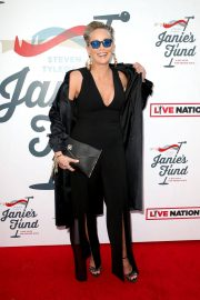 Sharon Stone Stills at Steven Tyler and Live Nation Presents Inaugural Janie's Fund Gala and Grammy 2018/01/28