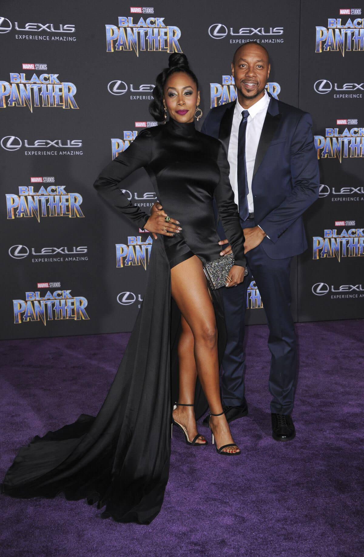 Simone Missick Stills at Black Panther Premiere in Hollywood 2018/01/29