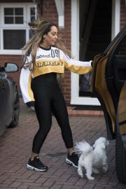 Sophie Kasaei Stills Moves Back Home to Newcastle 2018/01/28