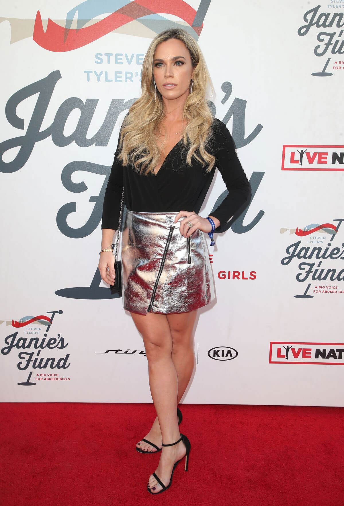 Teddi Jo Mellencamp Stills at Steven Tyler and Live Nation Presents Inaugural Janie's Fund Gala and Grammy in Party 2018/01/28