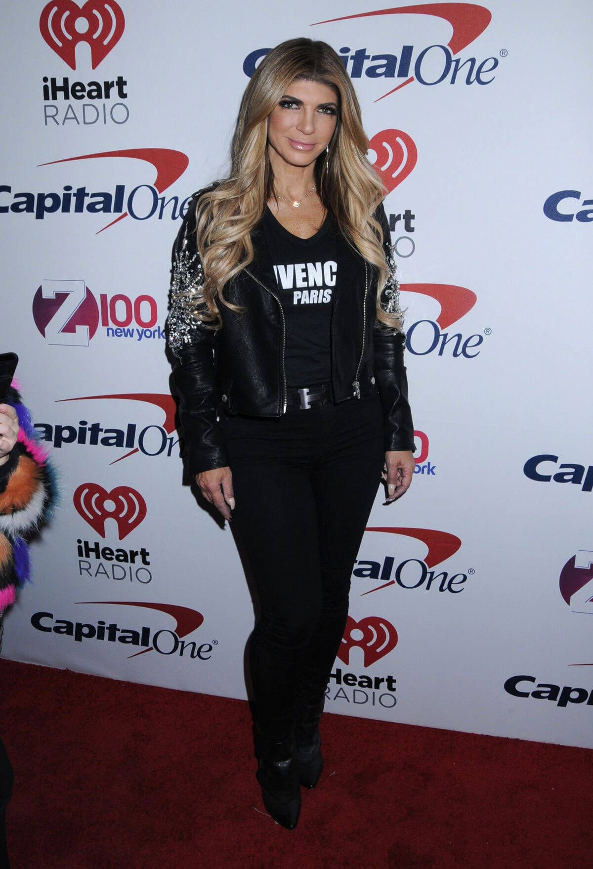 Teresa Giudice Stills at Z100 Jingle Ball in New York 2017/12/08