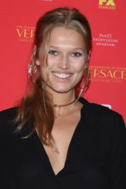 Toni Garrn Stills at The Assassination of Gianni Versace: American Crime Story Premiere in New York 2017/12/11