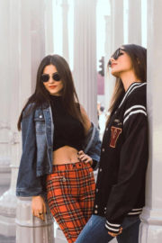 Victoria Justice and Madison Reed Stills Photoshoot in Los Angeles, December 2017