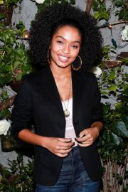Yara Shahidi Stills at Aerie Real Role Models Dinner Party in New York 2018/01/25