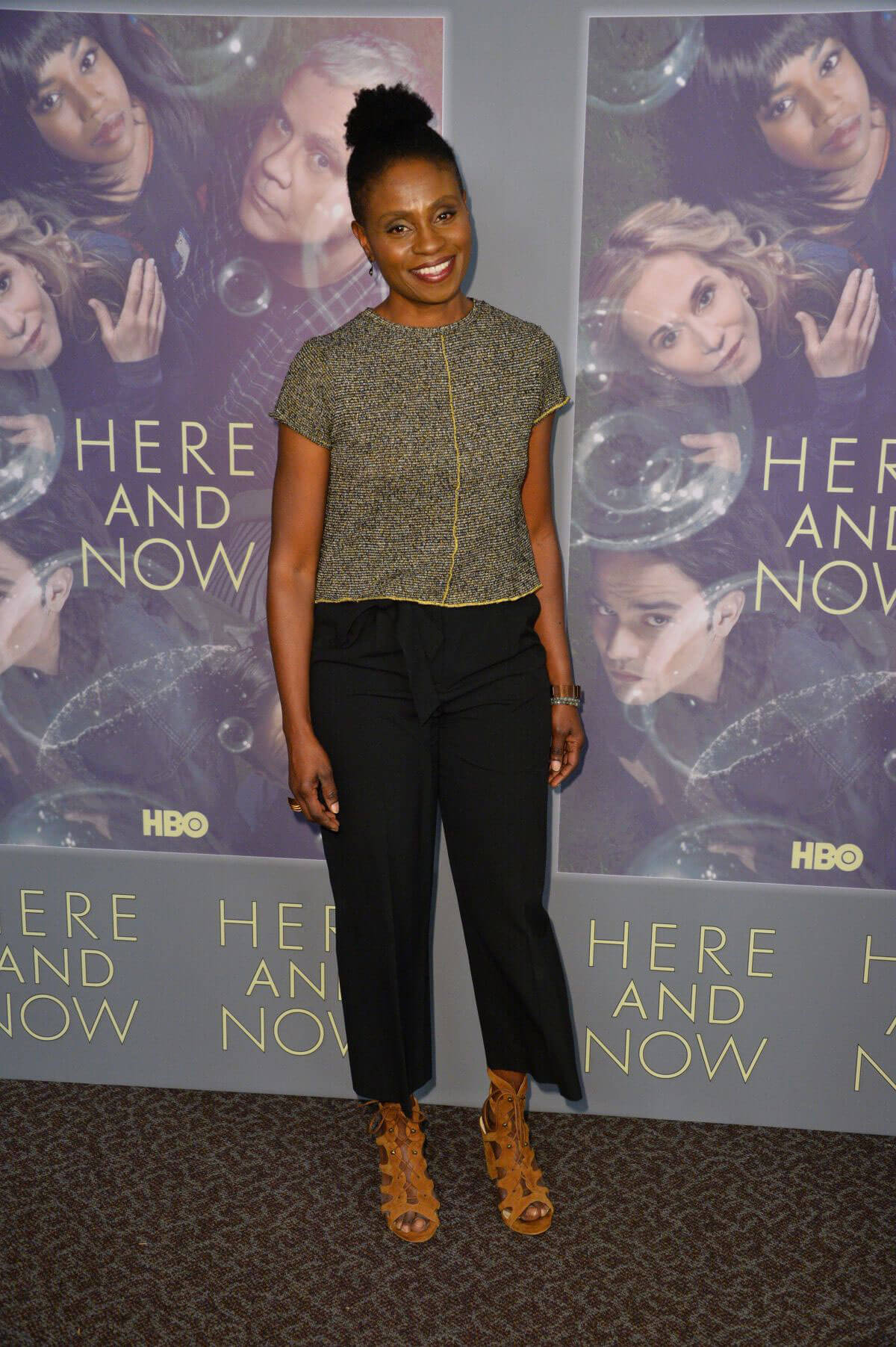 Adina Porter Stills at Here and Now Premiere in Los Angeles 2018/02/05