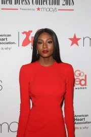 Afiya Bennett Stills at Go Red for Women Red Dress Collection 2018 Presented by Macy's in New York 2018/02/08