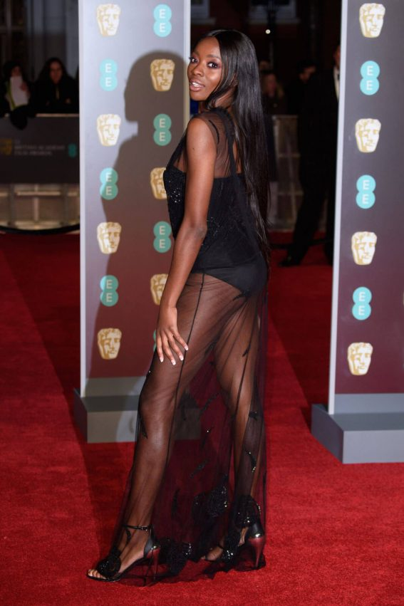 AJ Odudu Stills at BAFTA Film Awards 2018 in London 2018/02/18