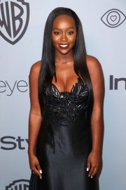 Aja Naomi King Stills at Instyle and Warner Bros Golden Globes After-party in Los Angeles 2018/01/07