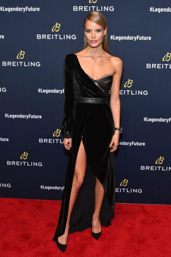 Alena Blohm Stills at Breitling Global Roadshow Event in New York 2018/02/22