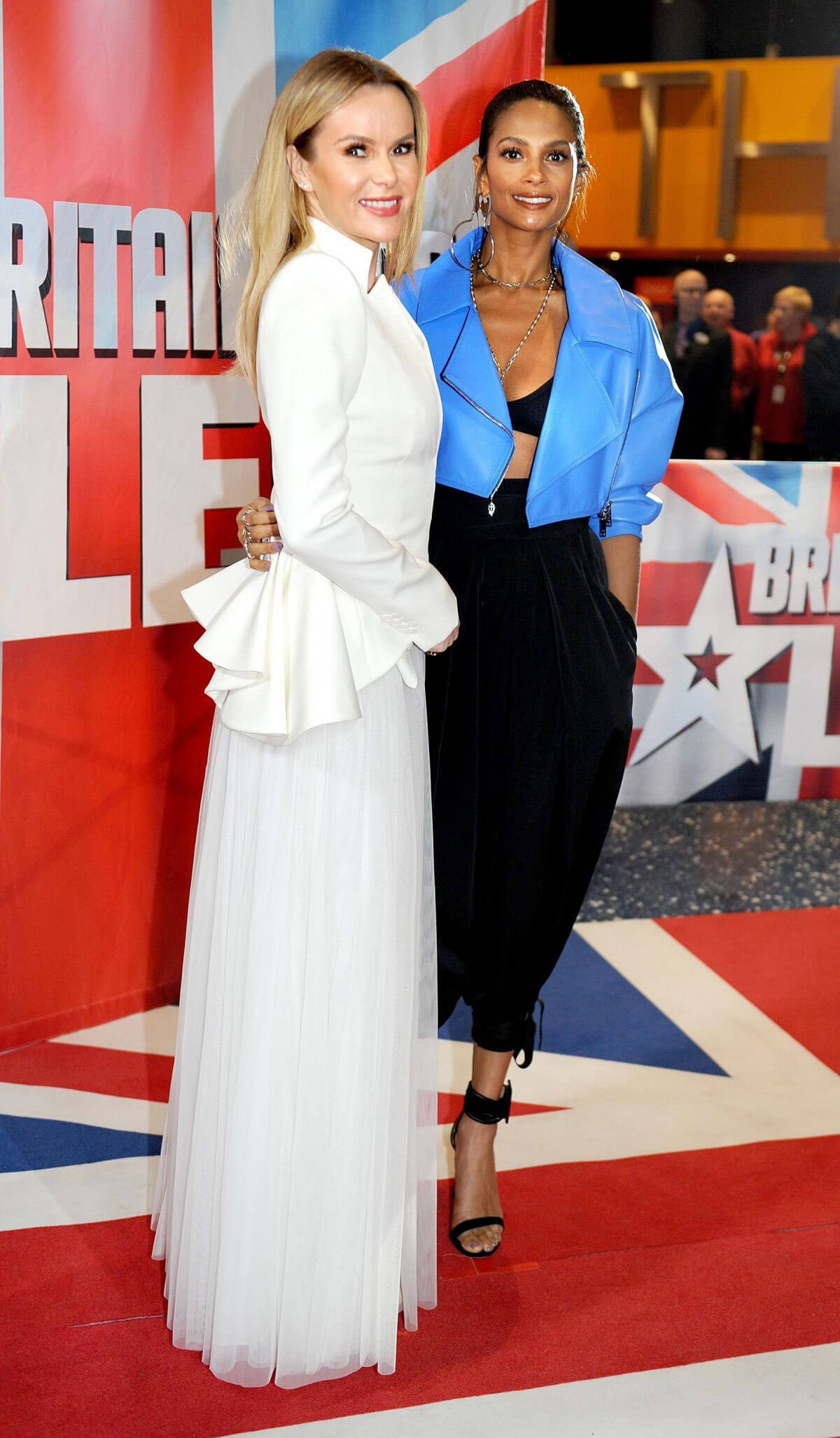 Alesha Dixon and Amanda Holden Stills at Britain's Got Talent Auditions in Manchester 2018/02/08
