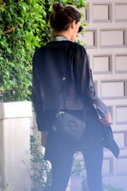 Alessandra Ambrosio Stills Leaves Her House in Brentwood 2018/02/02