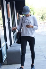 Alessandra Ambrosio Stills Out and About in Brentwood 2018/02/24