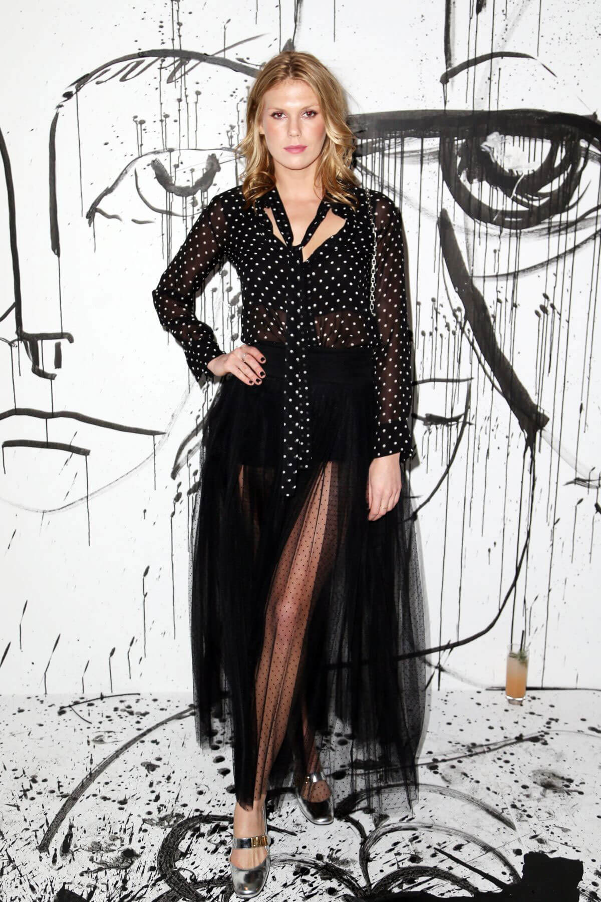Alexandra Richards Stills at Dior Collection Launch Party at Spring/Summer 2018 NYFW 2018/02/06