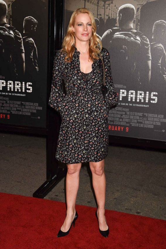 Alison Eastwood Stills at The 15:17 to Paris Premiere in Los Angeles 2018/02/05