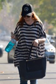 Alyson Hannigan Stills Out and About in Hollywood 2018/02/06