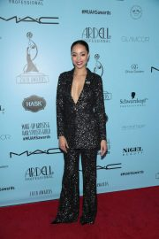 Amber Stevens West Stills at 2018 Make-up Artists and Hair Stylists Guild Awards in Los Angeles 2018/02/24