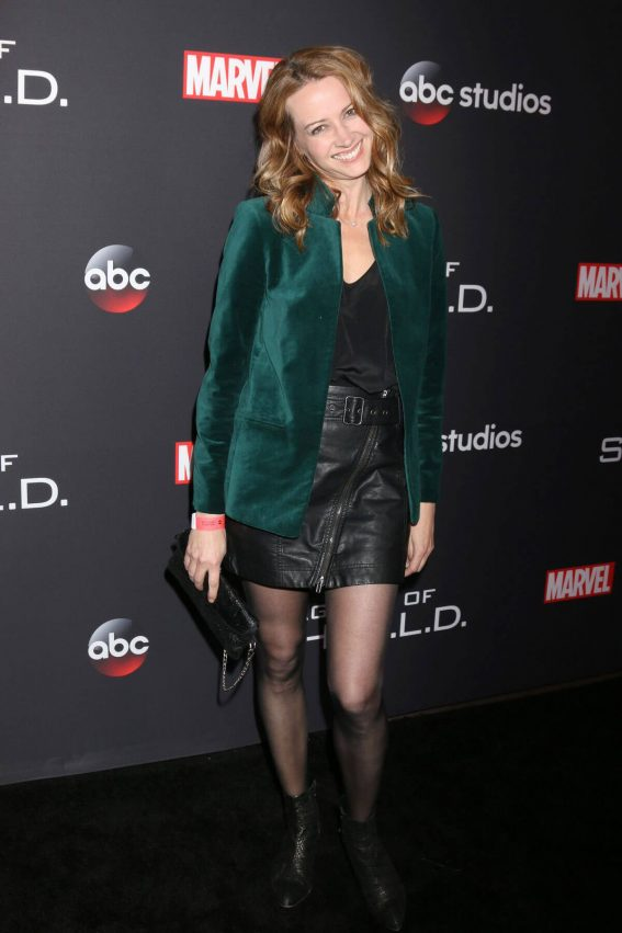 Amy Acker Stills at Agents of S.H.I.E.L.D. 100th Episode Celebration in Hollywood 2018/02/24