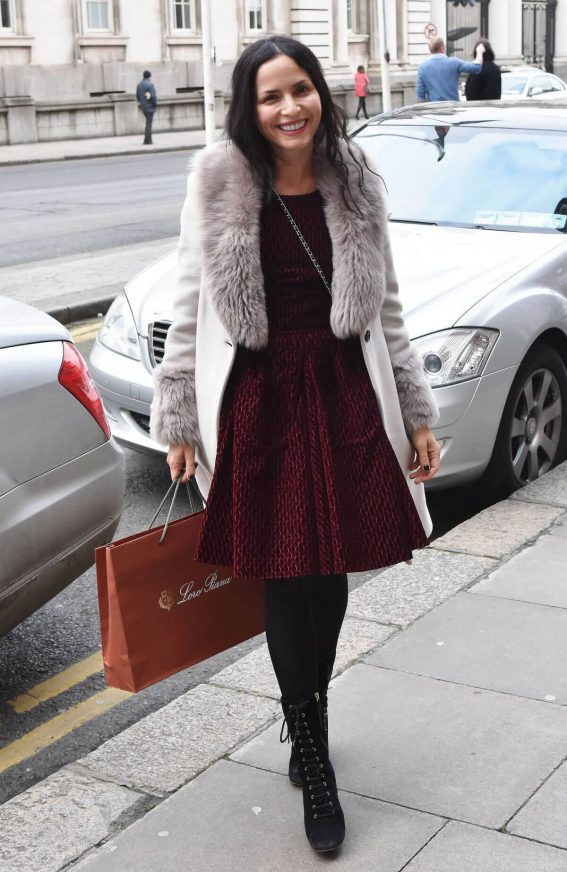 Andrea Corr Stills Out and About in Dublin 2018/02/22
