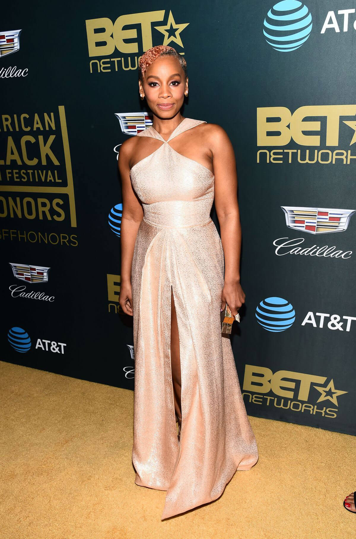 Anika Noni Rose Stills at American Black Film Festival in Los Angeles 2018/02/25