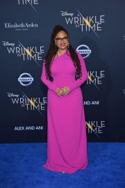 Ava DuVernay Stills at A Wrinkle in Time Premiere in Los Angeles 2018/02/26