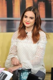 Bailee Madison Stills at Good Day New York Show in New York 2018/01/31