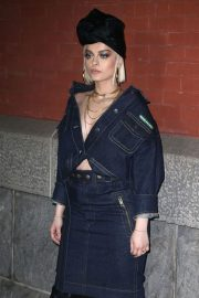 Bebe Rexha Stills at Marc Jacobs Fashion Show at NYFW in New York 2018/02/14