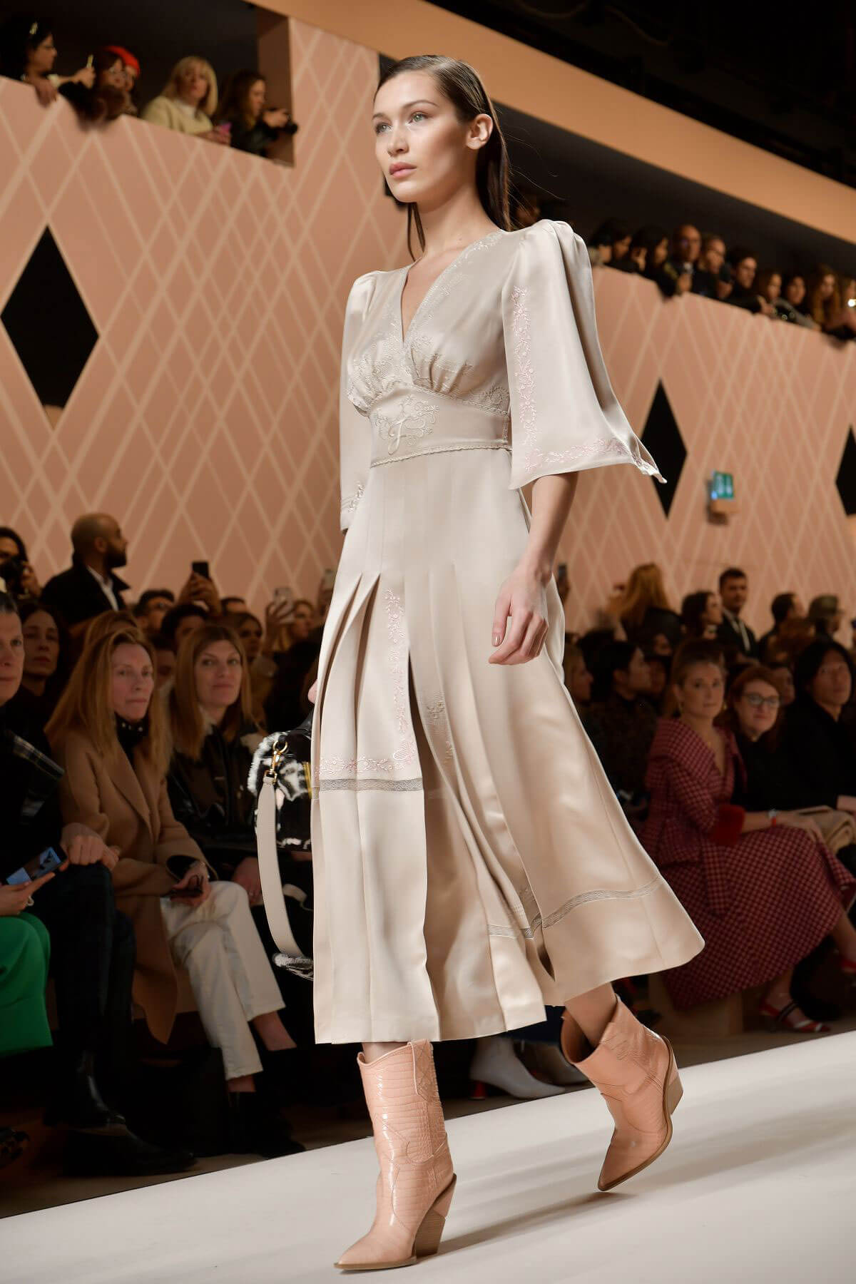 Bella Hadid Stills at Fendi Fall/Winter Runway Show at ...