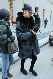 Bella Hadid Stills Out and About in New York 2018/02/02