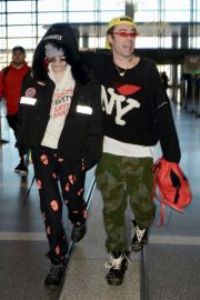 Bella Thorne and Mod Sun Stills at LAX Airport in Los Angeles 2018/02/25