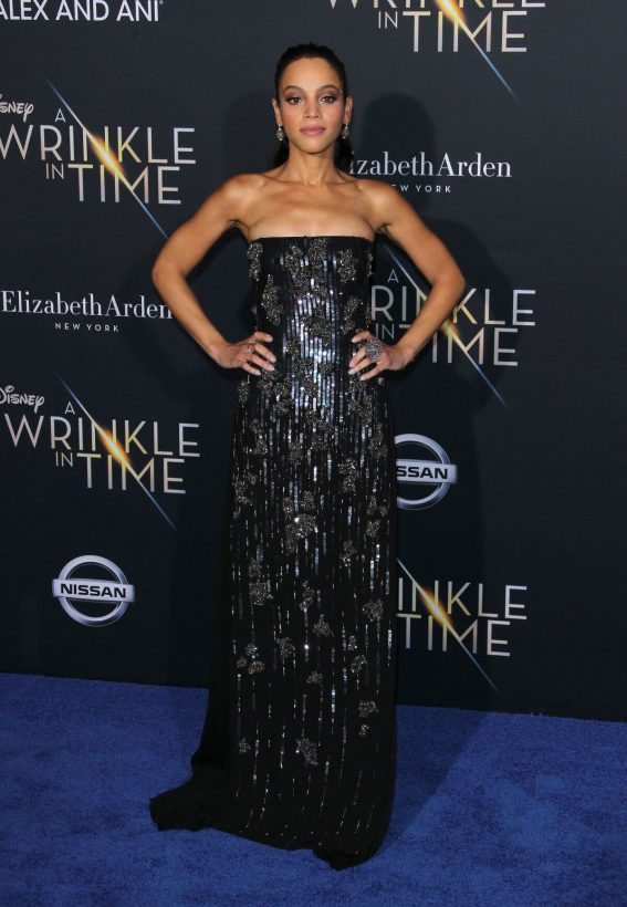 Bianca Lawson Stills at A Wrinkle in Time Premiere in Los Angeles 2018/02/26