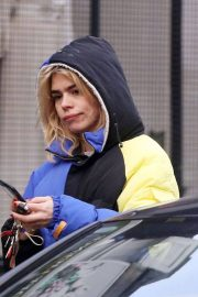Billie Piper Stills Out and About in London 2018/02/07