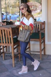 Blanca Blanco Stills Out for Coffee and Frozen Yogurt in Malibu 2018/02/23