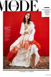 Blanca Padilla Stills in Madame Figaro Magazine, February 2018 Issue