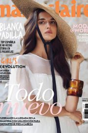 Blanca Padilla Stills in Marie Claire Magazine, Mexico March 2018 Issue