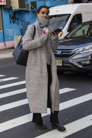 Blanca Padilla Stills Out and About in New York 2018/02/08