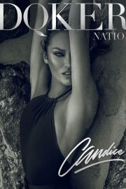 Candice Swanepoel Poses for Dqker Nation, February 2018 Issue