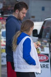 Caroline Wozniacki and David Lee Stills Out and About in New York 2018/02/21
