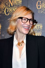 Cate Blanchett Stills at Girl from the North Country Play Opening Night in London 2018/01/11