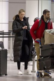 Charlize Theron Stills Arrives at Airport in Montreal 2018/01/11