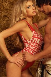 Charlotte McKinney Poses for Wildfox Photos