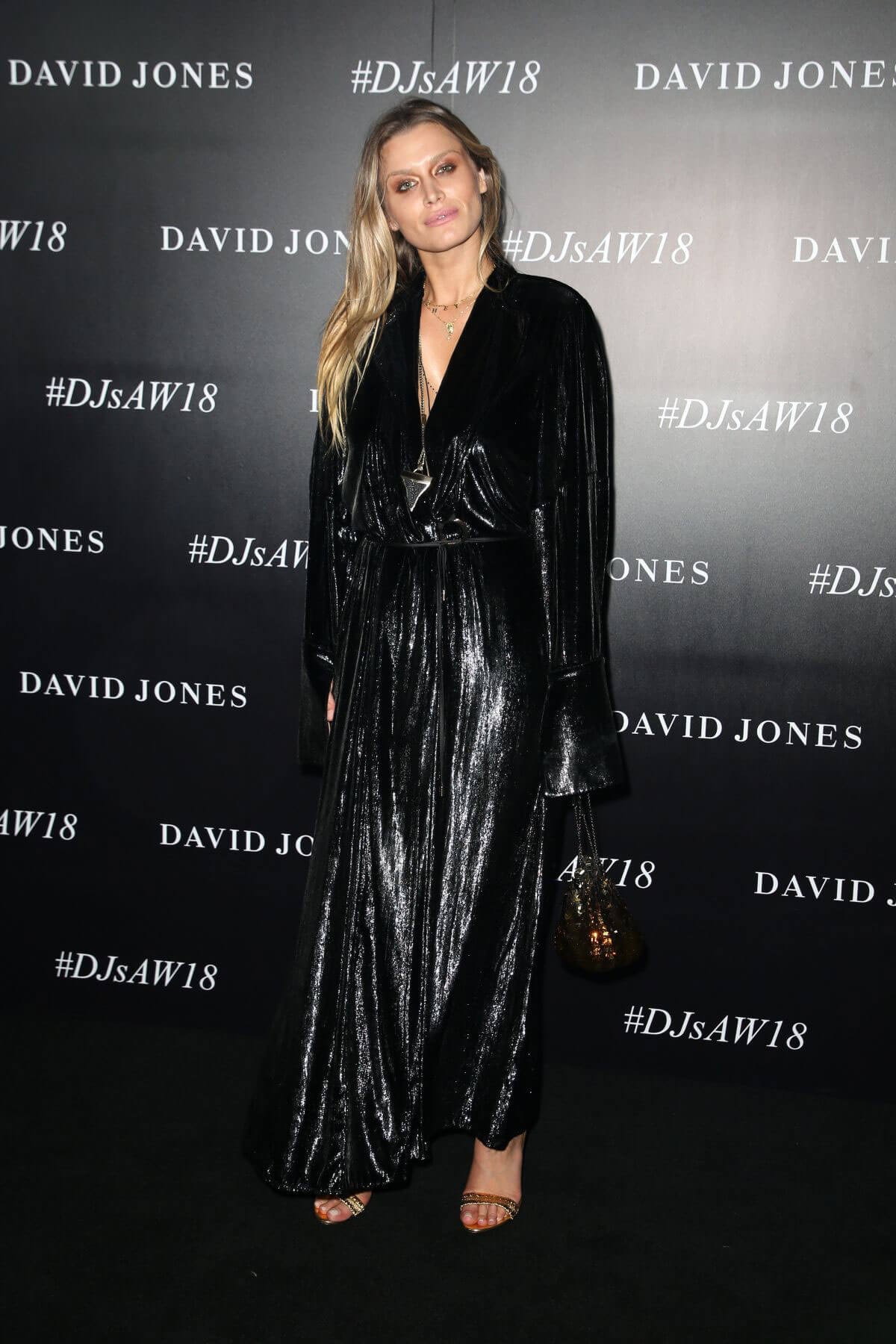 Cheyenne Tozzi Stills at David Jones Autumn/Winter 2018 Collections Launch in Sydney 2018/02/07