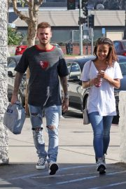 Christina Milian and Matt Pokora Stills Shopping for Sporting Goods in Los Angeles 2018/02/06