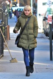 Christina Ricci Stills Out and About in New York 2018/01/26