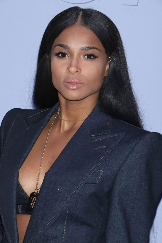 Ciara Stills at Tom Ford Fashion Show at 2018 New York Fashion Week 2018/02/06