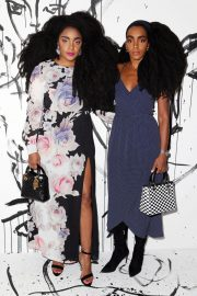 Cipriana and TK Quann Stills at Dior Collection Launch Party at Spring/Summer 2018 NYFW 2018/02/06